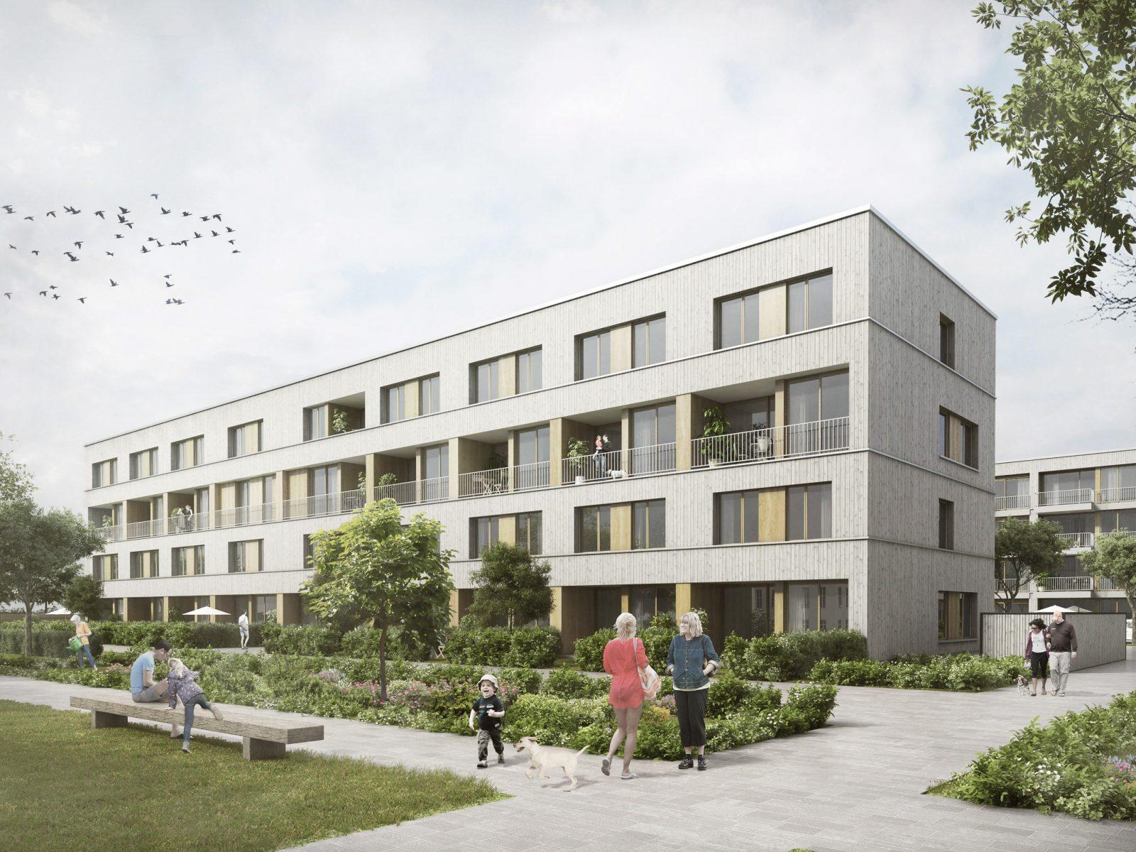 Drei Häuser am Alsterplatz