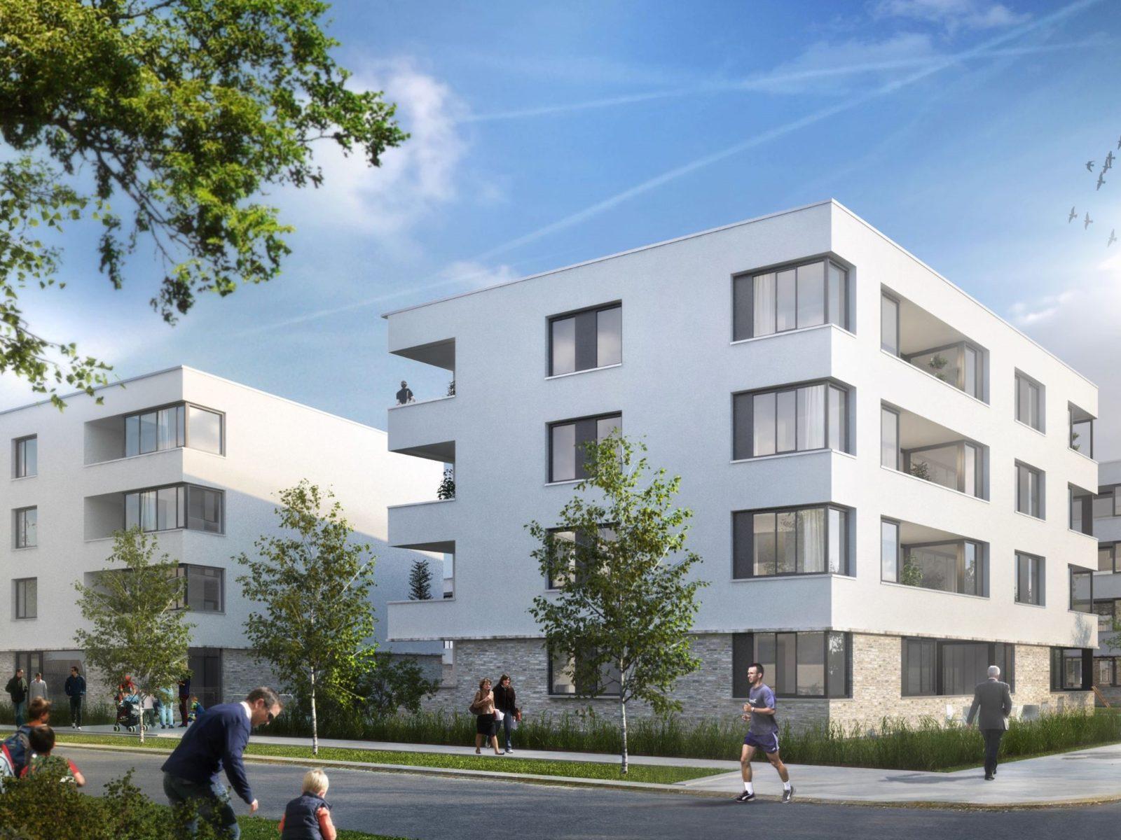 Wohnungsbau am Schragen