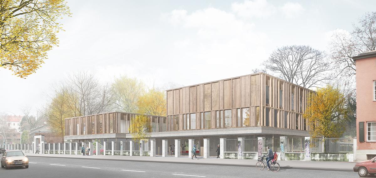 1. Preis Neubau Verwaltungsgebäude