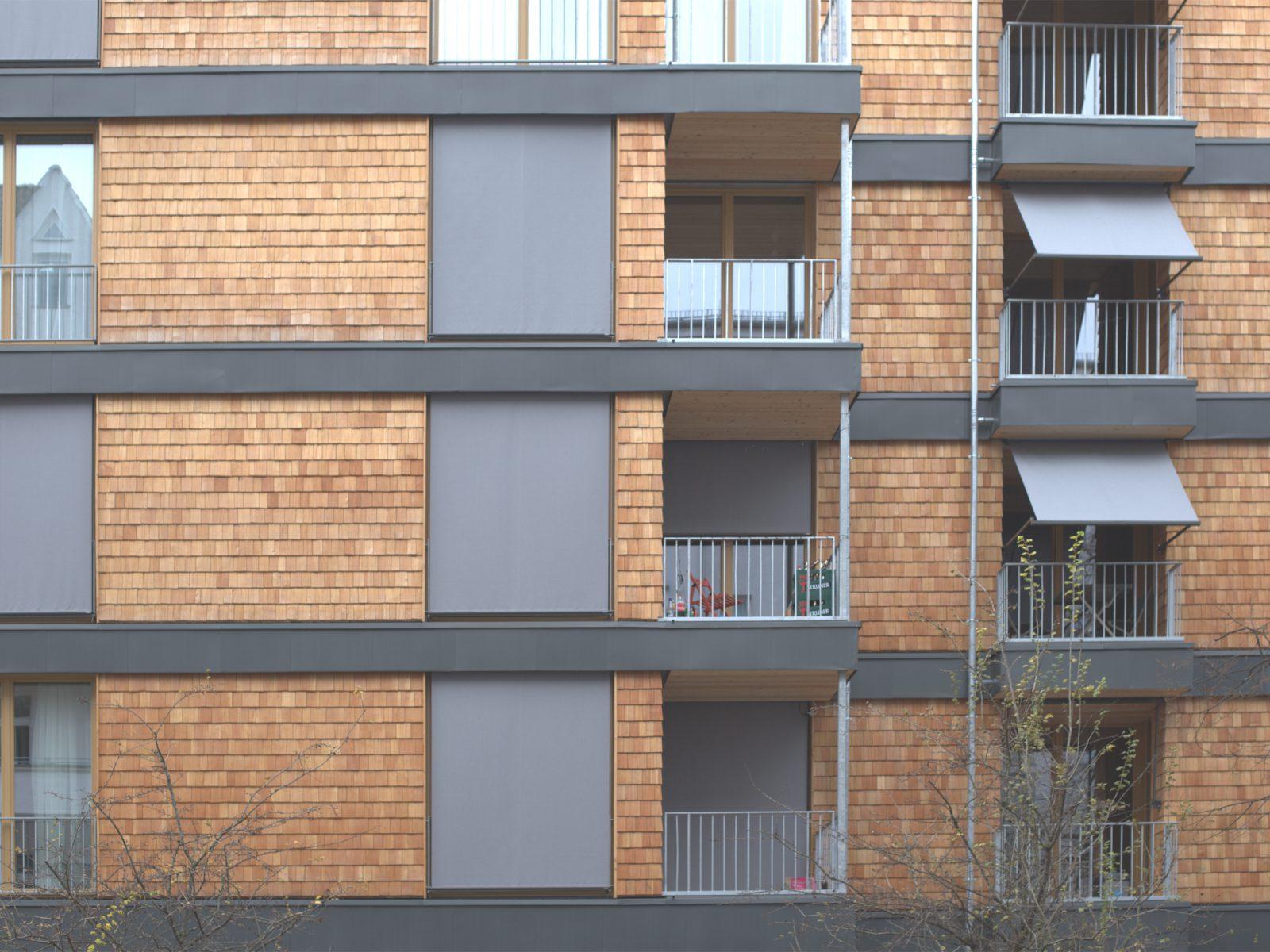 Neubau-Wohnhaus aus Holz